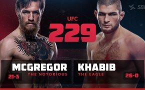 UFC 229: Conor McGregor vs Kahbib Nurmagomedov