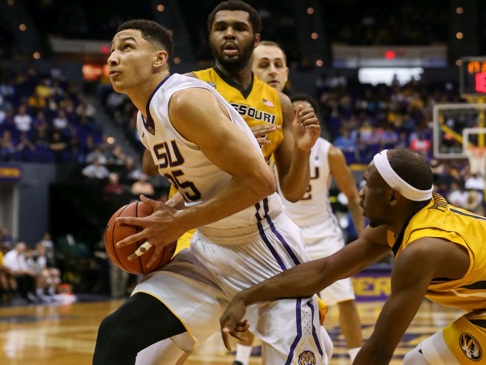 Ben Simmons with LSU