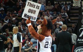 San Antonio Spurs mascot