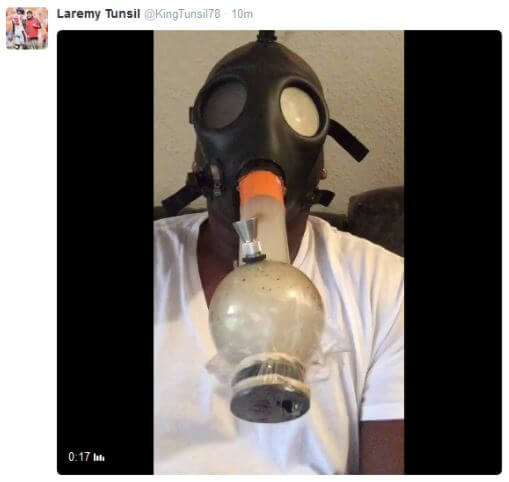 Laremy Tunsil Bong Tweet
