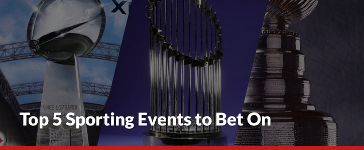 top 5 sporting events to bet on header image