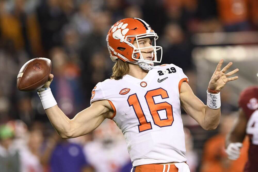to 2019 in Favored Games the College Win Clemson Most