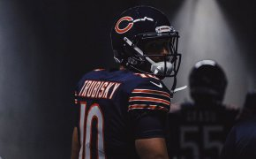 Mitchell Trubisky of the Chicago Bears