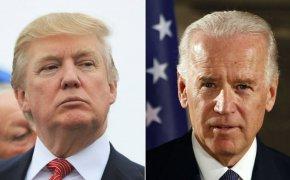 Trump vs Biden image