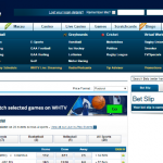 William Hill sportsbook homepage