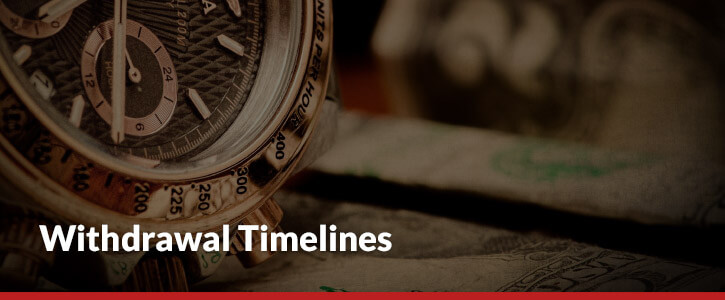 withdrawal times header image ticking watch