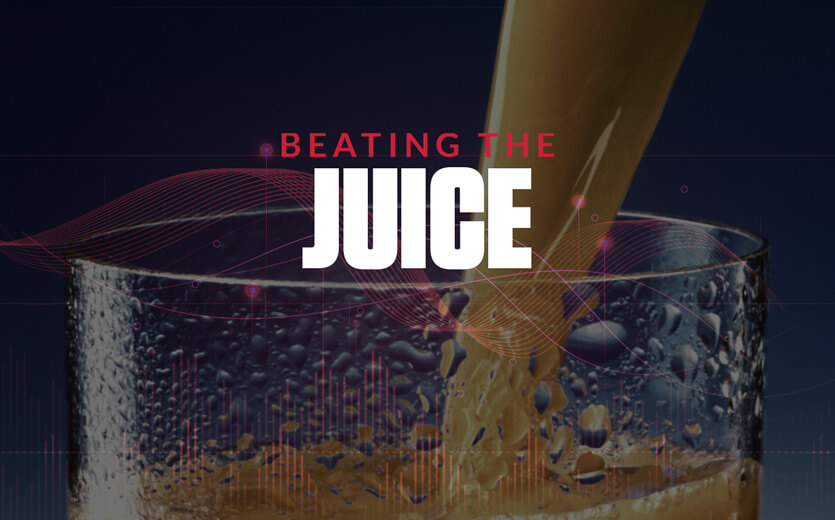 beating the juice