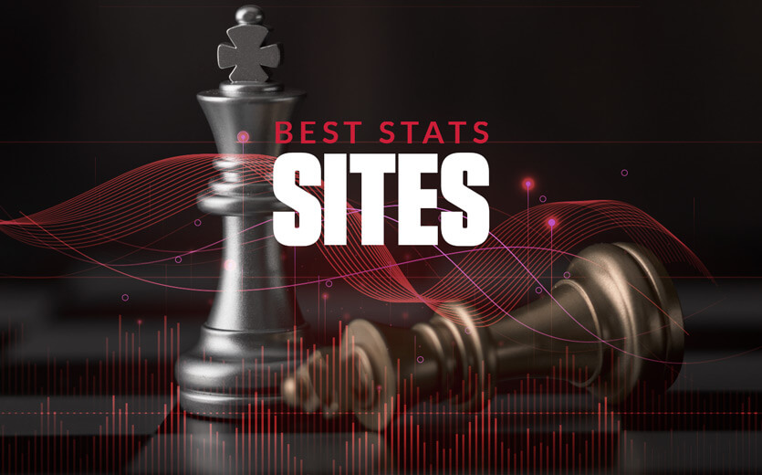 Best stats sites for bettors text with chess pieces
