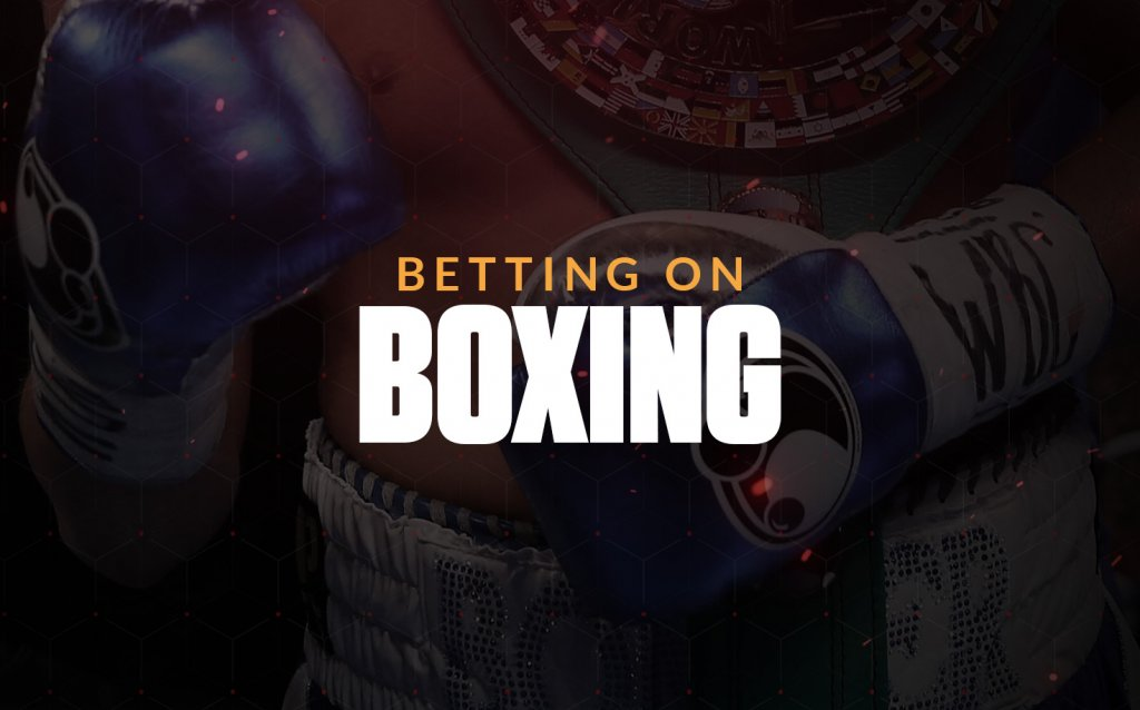 Betting on boxing text overlay on boxing image