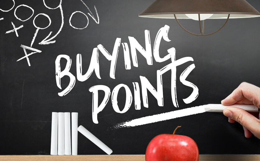 Buying points