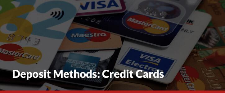 credit card deposit methods mastercard visa maestro visa electron