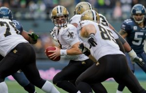 Drew Brees looking for someone open