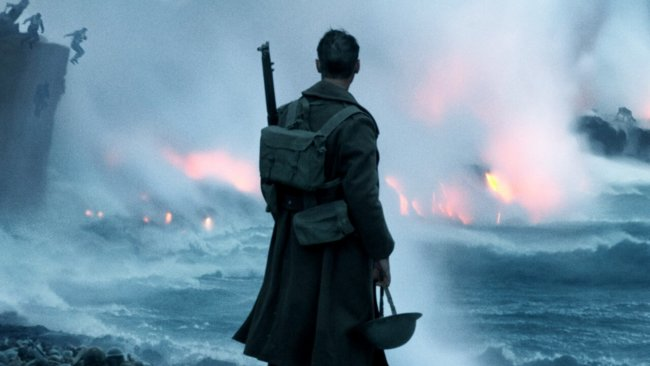 A still image from Warner Brothers' WWII epic Dunkirk
