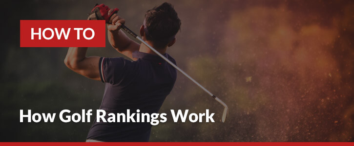 how golf rankings are calculated header image golf swing sandtrap