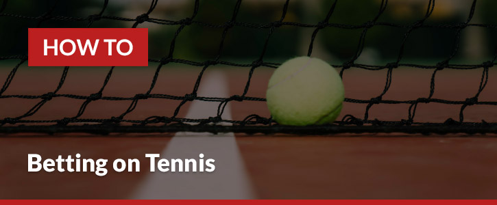 how to bet on tennis header image tennis ball tennis net line boundary