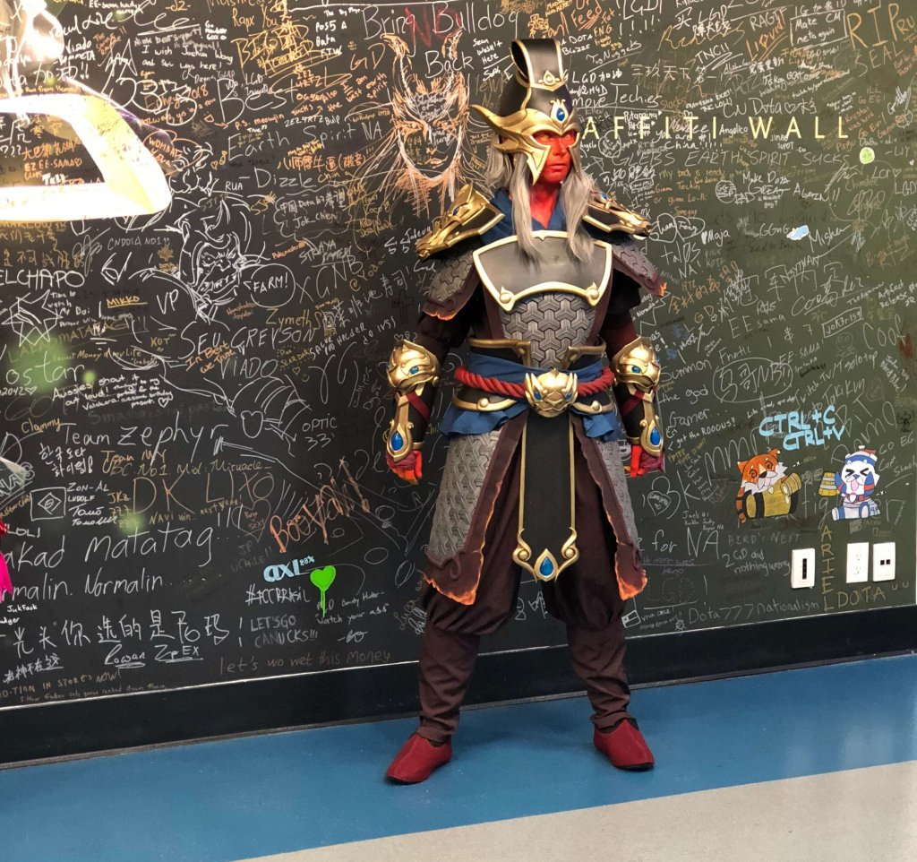Cosplayers could be found everywhere at The International 2018.