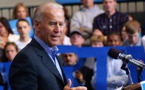 Joe Biden is climbing up the list of favorites for 2020.
