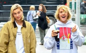 Hailey Baldwin and Justin Bieber play it up for the cameras