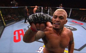 Mark Hunt, 44 years old and still headlining events