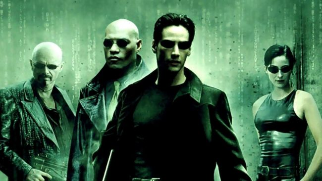 Poster from The Matrix Film