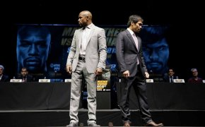 Mayweather and Pacquiao square off for the first time. Are they ready for a rematch?