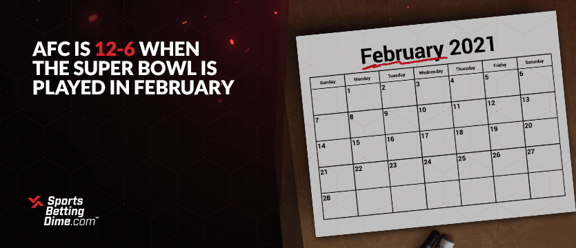 A calendar with the month February showing