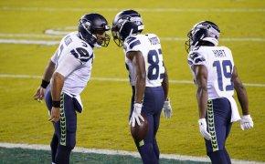 David Moore, Russell Wilson, Seattle Seahawks