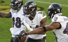 Tyus Bowser Baltimore Ravens