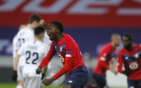 Lille's Timothy Weah