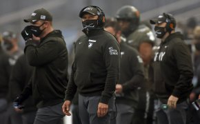 Army coach Jeff Monken