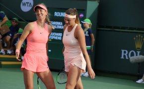 Sabalenka and Azarenka at the Ostrava Open