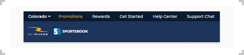 Screenshot of BetRivers promotions tab