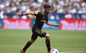 LAFC striker Diego Rossi