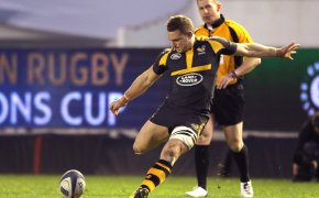 London Wasps' Jimmy Gopperth kicks a penalty