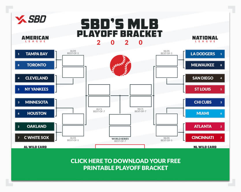 Desktop MLB Playoff Bracket