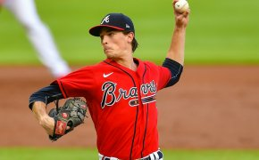 Max Fried pitching for Atlanta