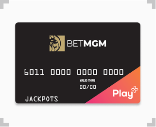 BetMGM Play+ prepaid card