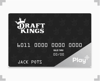 DraftKings Play+ prepaid card