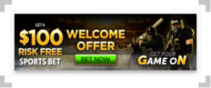 Golden Nugget welcome offer with sports players