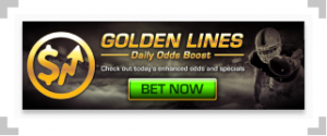 Golden Nugget odds boost with football player