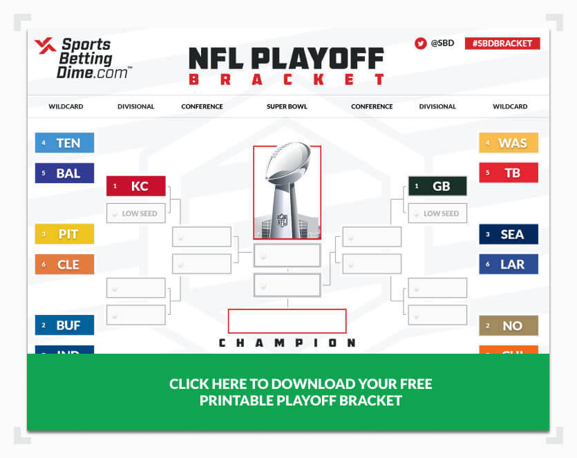 Nfl playoff brackets betting websites betting tips for monday night football