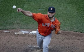 Houston Astros pitcher Lance McCullers Jr.