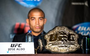 Former UFC bantamweight champion Jose Aldo