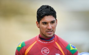 Gabriel Medina in wetsuit
