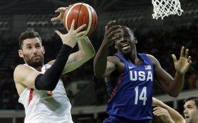 Draymond Green plays for Team USA