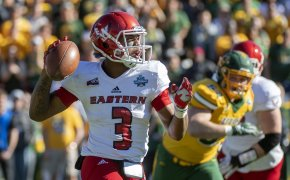 EWU QB on the run