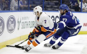Jordan Eberle, New York Islanders; Victor Hedman, Tampa Bay Lightning