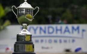 Wyndham Championship trophy