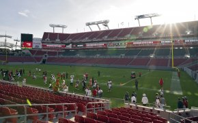 Raymond James Stadium in Tampa Bay, Florida