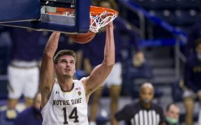 Nate Laszewski dunks